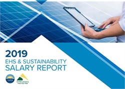 2019 EHS & Sustainability Salary Report
