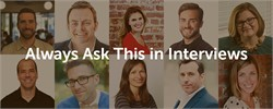 What's the Number One Interview Question to Ask?