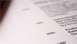 Eight Critical Resume Errors