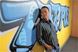 Why Tony Hsieh was like the Willy Wonka of shoes